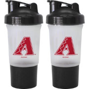 Boelter Arizona Diamondbacks 16oz Protein Shaker 2-Pack