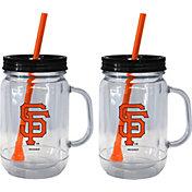 Boelter San Francisco Giants 20oz Handled Straw Tumbler 2-Pack