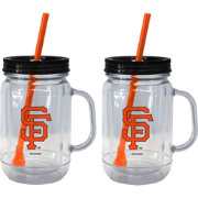 Boelter San Francisco Giants 20oz Handled Straw Tumbler 2-Pack