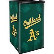 Boelter Oakland Athletics Counter Top Height Refrigerator