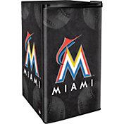 Boelter Miami Marlins Counter Top Height Refrigerator