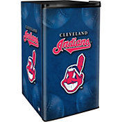 Boelter Cleveland Indians Counter Top Height Refrigerator