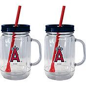 Boelter Los Angeles Angels 20oz Handled Straw Tumbler 2-Pack
