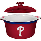 Boelter Philadelphia Phillies Game Time 2.4qt Oven Ceramic Bowl