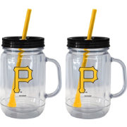 Boelter Pittsburgh Pirates 20oz Handled Straw Tumbler 2-Pack