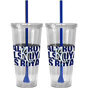 Boelter Kansas City Royals Bold Sleeved 22oz Straw Tumbler 2-Pack