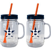 Boelter Houston Astros 20oz Handled Straw Tumbler 2-Pack