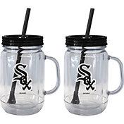 Boelter Chicago White Sox 20oz Handled Straw Tumbler 2-Pack
