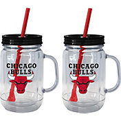Boelter Chicago Bulls 20oz Handled Straw Tumbler 2-Pack