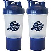 Boelter Utah Jazz 16oz Protein Shaker 2-Pack