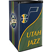 Boelter Utah Jazz Counter Top Height Refrigerator