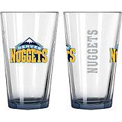 Boelter Denver Nuggets 16oz Elite Pint 2-Pack