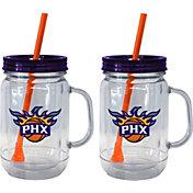 Boelter Phoenix Suns 20oz Handled Straw Tumbler 2-Pack