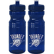 Boelter Oklahoma City Thunder 24oz Squeeze Water Bottle 2-Pack