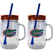 Boelter Florida Gators 20oz Handled Straw Tumbler 2-Pack