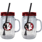 Boelter Florida State Seminoles 20oz Handled Straw Tumbler 2-Pack