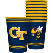Boelter Georgia Tech Yellow Jackets Souvenir 20oz Plastic Cup 8-Pack