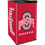 Boelter Ohio State Buckeyes Counter Top Height Refrigerator