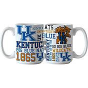 Boelter Kentucky Wildcats Spirit 15oz Coffee Mug 2-Pack