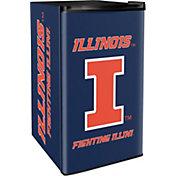 Boelter Illinois Fighting Illini Counter Top Height Refrigerator