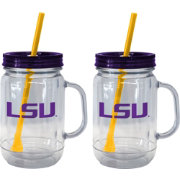 Boelter LSU Tigers 20oz Handled Straw Tumbler 2-Pack