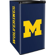 Boelter Michigan Wolverines Counter Top Height Refrigerator