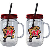 Boelter Maryland Terrapins 20oz Handled Straw Tumbler 2-Pack