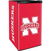 Boelter Nebraska Cornhuskers Counter Top Height Refrigerator