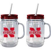 Boelter Nebraska Cornhuskers 20oz Handled Straw Tumbler 2-Pack