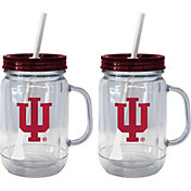 Boelter Indiana Hoosiers 20oz Handled Straw Tumbler 2-Pack