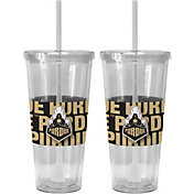 Boelter Purdue Boilermakers Bold Sleeved 22oz Straw Tumbler 2-Pack