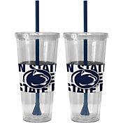 Boelter Penn State Nittany Lions Bold Sleeved 22oz Straw Tumbler 2-Pack
