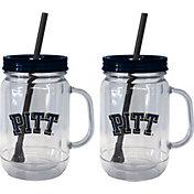 Boelter Pitt Panthers 20oz Handled Straw Tumbler 2-Pack