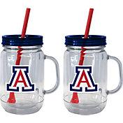 Boelter Arizona Wildcats 20oz Handled Straw Tumbler 2-Pack