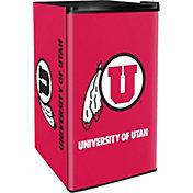 Boelter Utah Utes Counter Top Height Refrigerator