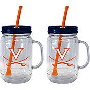 Boelter Virginia Cavaliers 20oz Handled Straw Tumbler 2-Pack