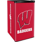Boelter Wisconsin Badgers Counter Top Height Refrigerator