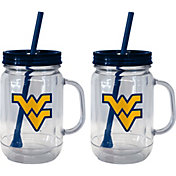 Boelter West Virginia Mountaineers 20oz Handled Straw Tumbler 2-Pack