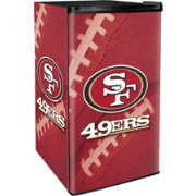 Boelter San Francisco 49ers Counter Top Height Refrigerator