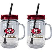 Boelter San Francisco 49ers 20oz Handled Straw Tumbler 2-Pack