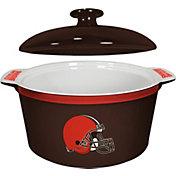Boelter Cleveland Browns Game Time 2.4qt Oven Ceramic Bowl