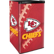 Boelter Kansas City Chiefs Counter Top Height Refrigerator