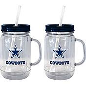 Boelter Dallas Cowboys 20oz Handled Straw Tumbler 2-Pack
