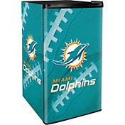 Boelter Miami Dolphins Counter Top Height Refrigerator