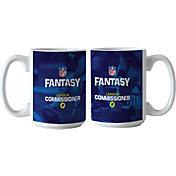 Boelter NFL Fantasy Football 15oz. League Commissioner Coffee Mug 2-Pack.
