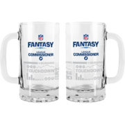 Boelter NFL Fantasy Football 16oz. League Commissioner Tankard 2-Pack