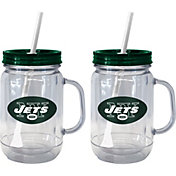 Boelter New York Jets 20oz Handled Straw Tumbler 2-Pack