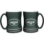 Boelter New York Jets Relief 14oz Coffee Mug 2-Pack