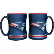 Boelter New England Patriots Relief 14oz Coffee Mug 2-Pack