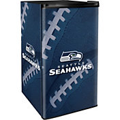 Boelter Seattle Seahawks Counter Top Height Refrigerator